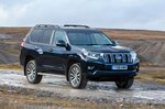 Toyota Land Cruiser 2019 front right off road tracking RHD