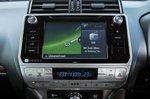 Toyota Land Cruiser 2019 infotainment RHD