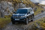 Toyota Land Cruiser 2019 front left off road tracking RHD