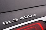 2020 Mercedes GLS 400d boot badge