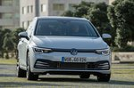 Volkswagen Golf 2019 front head-on tracking LHD