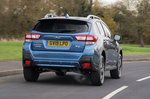 Subaru XV 2019 rear tracking