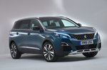 2018 Peugeot 5008 left front static RHD
