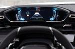 Peugeot 508 Hatchback Hybrid 2020 instruments LHD