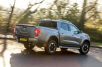 Nissan Navara 2021 RHD wide rear right cornering