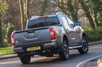 Nissan Navara 2021 RHD rear right cornering