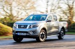 Nissan Navara 2020 RHD wide front right cornering