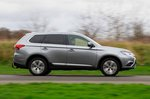 Mitsubishi Outlander 2020 RHD right panning