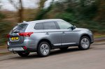 Mitsubishi Outlander 2020 RHD wide rear right cornering