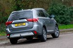 Mitsubishi Outlander 2020 RHD rear right cornering