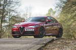 Alfa Romeo Giulia Quadrifoglio 2019 front static RHD
