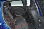 Renault Clio rear seats