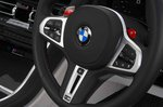 BMW M8 Competition 2020 RHD dashboard detail