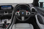 BMW M8 Competition 2020 RHD dashboard