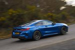 BMW M8 Competition 2020 RHD rear right cornering