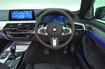 BMW 5 Series Saloon 2019 dashboard RHD