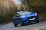 Ford Puma 2020 front left wide tracking RHD