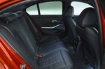 BMW 3 Series Saloon 2021 rear seats RHD