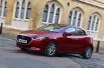 Mazda 2 2020 front cornering wide RHD