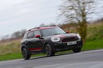 Mini Countryman JCW 2020 front cornering wide RHD