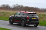 Mini Countryman JCW 2020 front cornering rear RHD