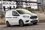 Ford Transit Courier driving