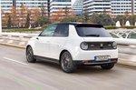 Honda E 2020 press pics LHD rear tracking