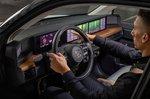 Honda E 2020 press pics LHD dashboard