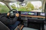 Honda E 2020 press pics LHD front seats