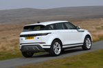 2019 Land Rover Range Rover Evoque rear right tracking wide RHD
