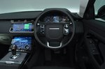 2019 Land Rover Range Rover Evoque dashboard RHD