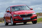 Skoda Scala front - red