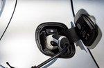 Smart ForTwo EQ 2020 charging socket detail