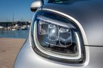 Smart ForTwo EQ 2020 headlight detail
