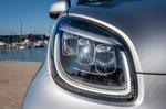 Smart ForTwo EQ 2020 headlight detail