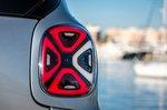 Smart ForTwo EQ 2020 rear light detail