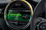 Mini Electric 2020 RHD infotainment