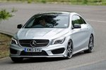 Mercedes CLA front three quarters