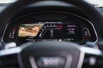 Audi RS6 Avant 2020 RHD instruments detail