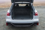 Audi RS6 Avant 2020 RHD boot open