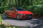 Mercedes CLA 2020 RHD wide front right tracking