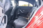 Mercedes CLA 2020 RHD rear seats