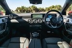Mercedes CLA 2020 RHD dashboard