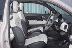 Fiat 500C 2020 RHD front seats