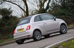 Fiat 500C 2020 RHD rear right tracking