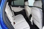 BMW X6 2020 RHD rear seats