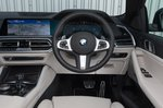 BMW X6 2021 RHD dashboard
