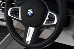 BMW X6 2021 RHD steering wheel detail