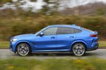 BMW X6 2021 RHD left side panning