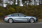 BMW 8 Series Gran Coupé 2020 RHD left panning